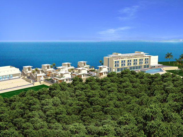 E Hotel Spa & Resort: Panoramic View