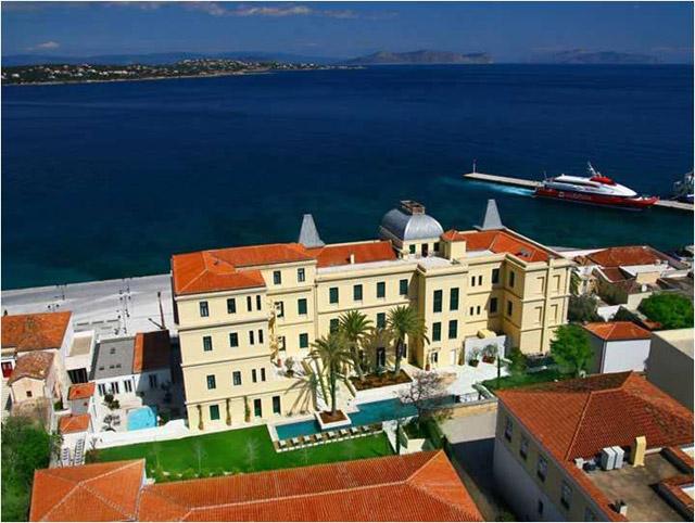 Poseidonion Grand Hotel: Aerial View