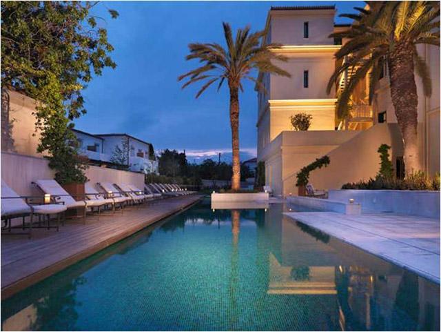 Poseidonion Grand Hotel: Pool Area
