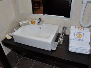 Amalias Hotel: Bathroom