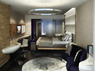 The Yas HotelBedroom