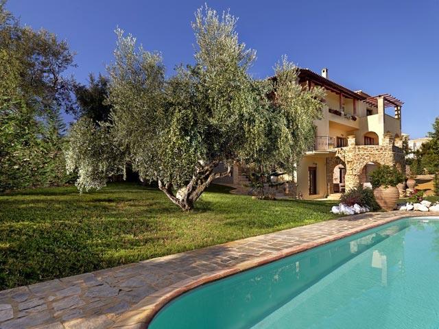 Bozonos Luxury VillasExterior View
