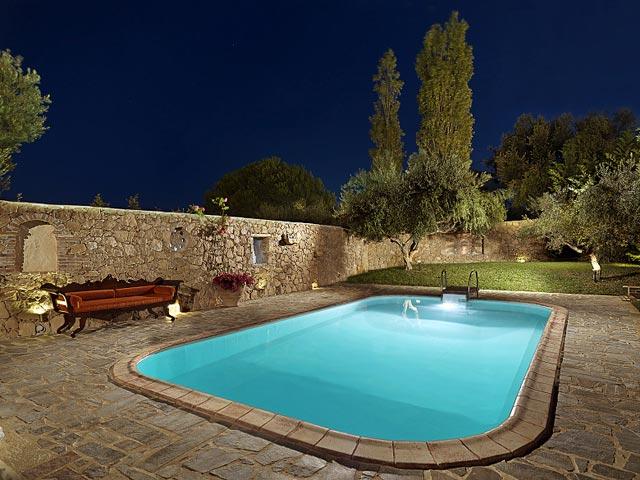 Bozonos Luxury VillasPool Area