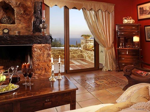 Bozonos Luxury VillasSitting Area