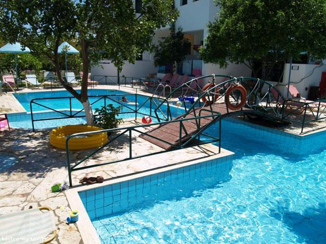 Kastro Hotel MyrtosSwimming Pool