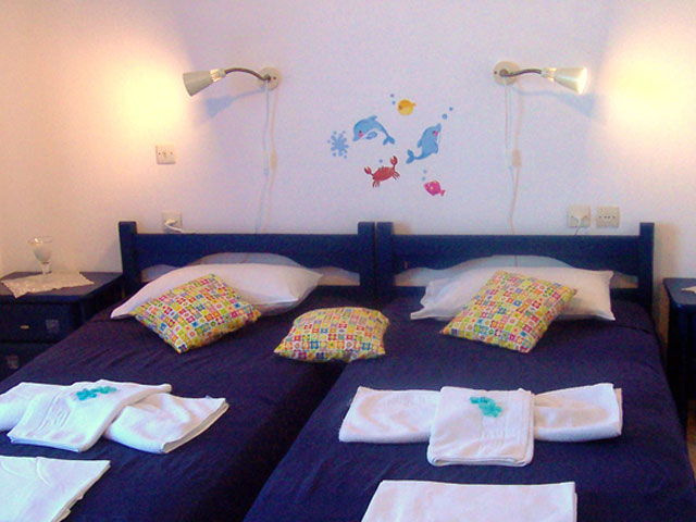 Apokoros Family Hotel Apartments & StudiosBedroom