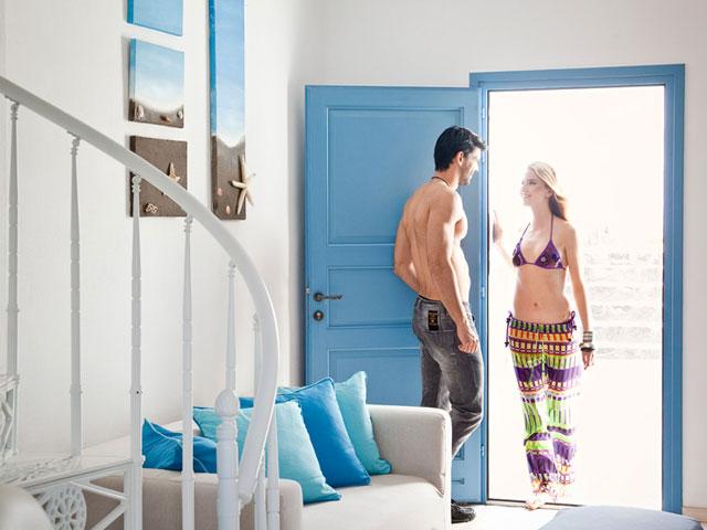 Thermes Luxury Villas: Room Entrance