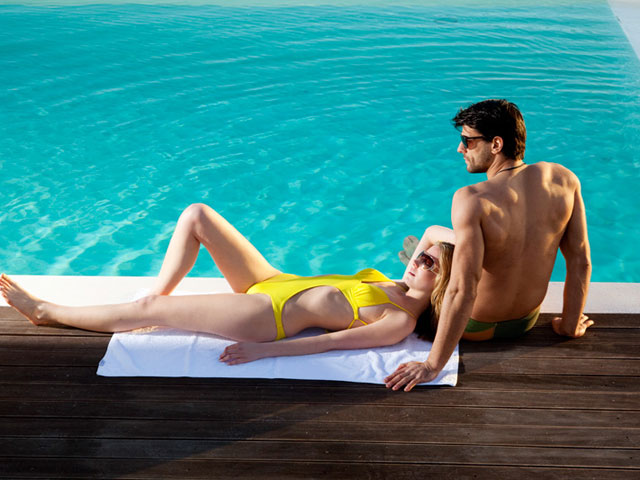 Thermes Luxury Villas: Swimming Pool