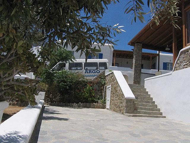 Argo Hotel - Entrance