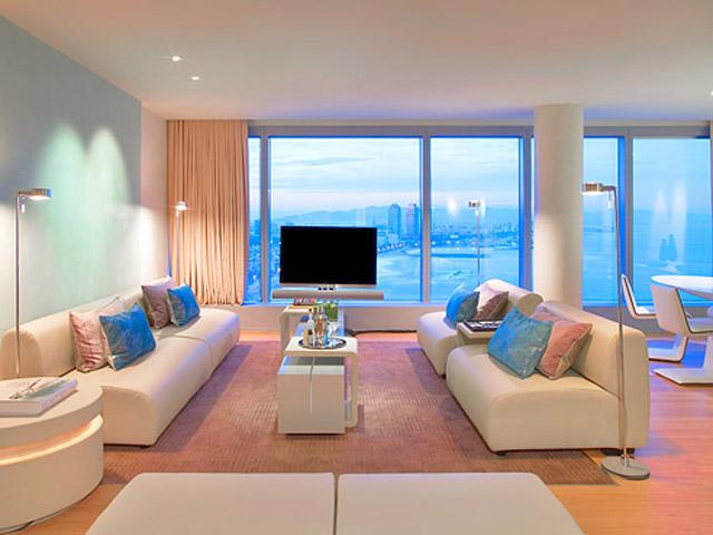 W Barcelona - Wow Suite - Living Room