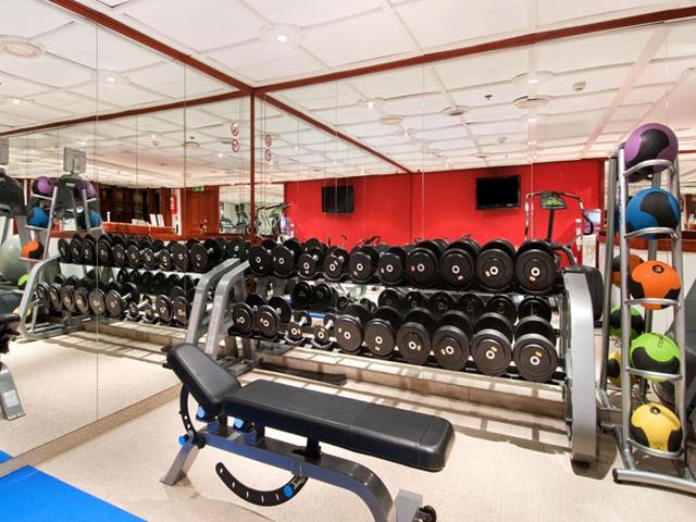 Hilton Vienna Plaza Hotel - Fitness centre