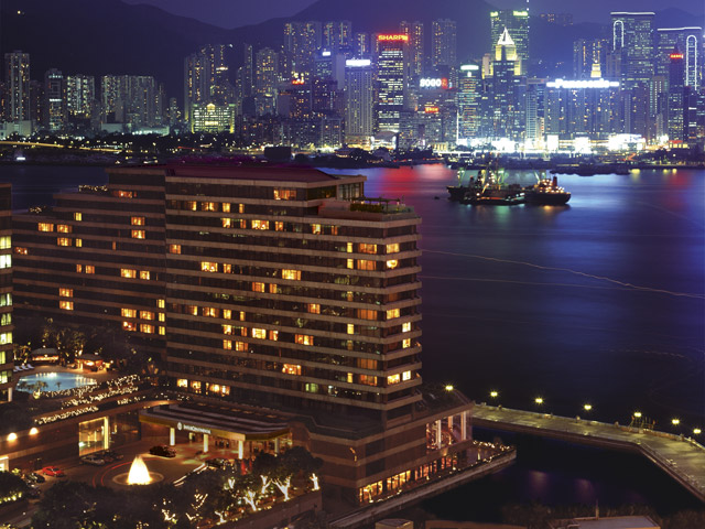Intercontinental Hong Kong - Exterior View