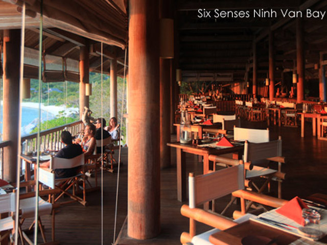 Six Senses Ninh Van Bay - Dining area