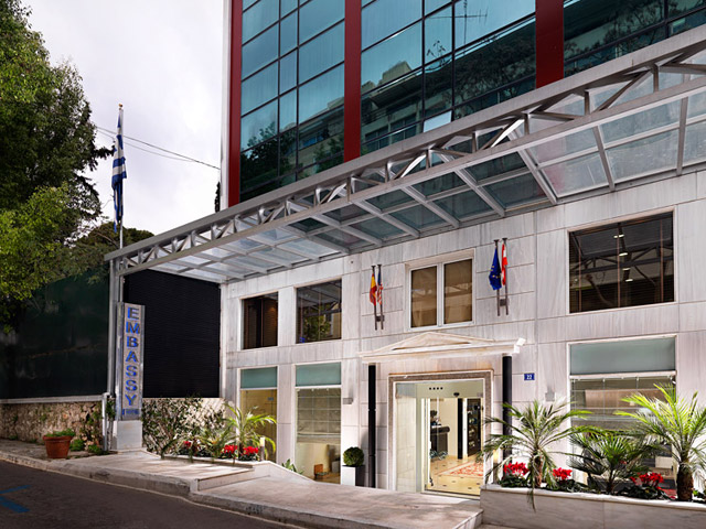 Best Western Plus Embassy Hotel Athens - Exterior View