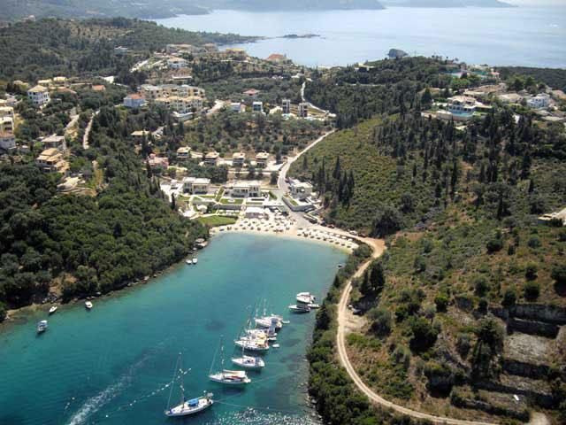 Karvouno Villas: View of the area