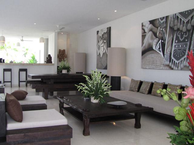 Villa Chocolat - Living room