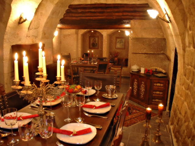 Sacred House - Dinning Area