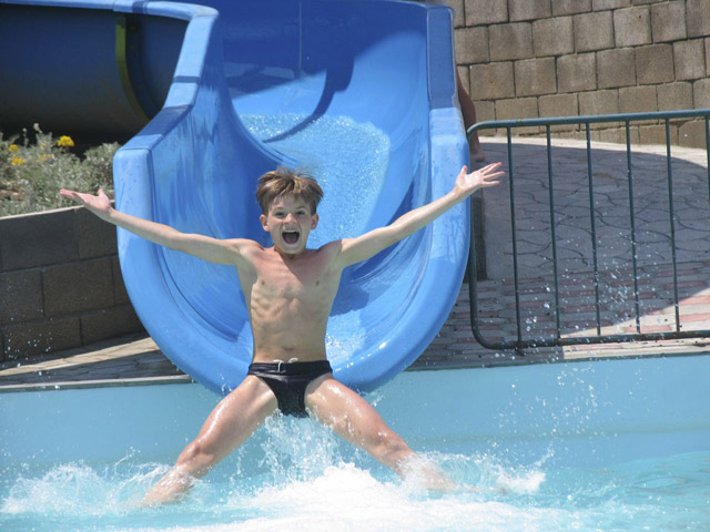 Zante Royal & Water park - Water Park Area