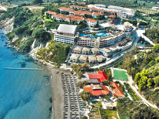 Zante Royal & Water park: Aerial View