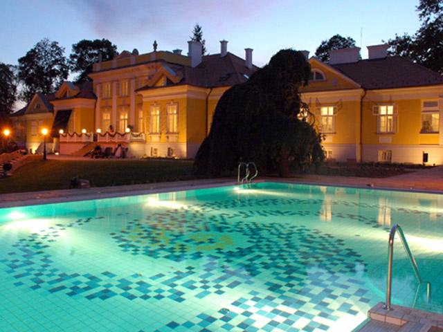 Hertelendy Castle HotelExterior View Swimming pool