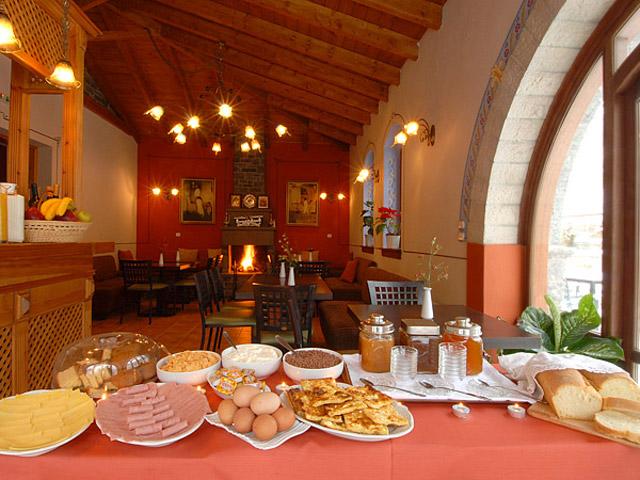 Melina Hotel - Restaurant