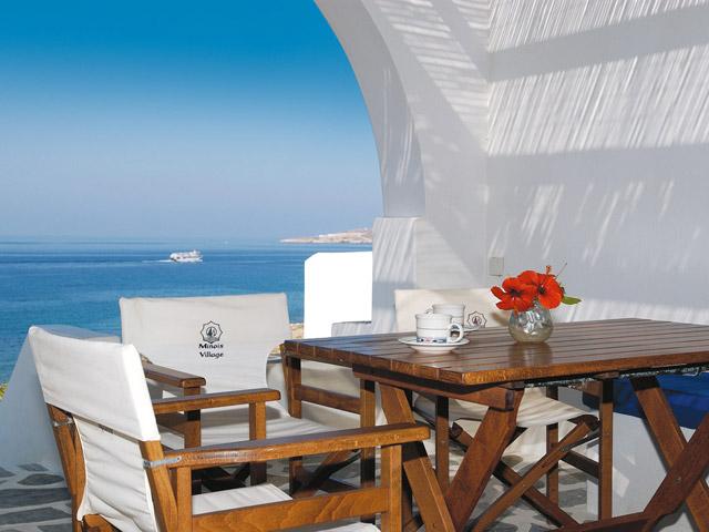 Minois Village Hotel Suites & Spa: Balcony