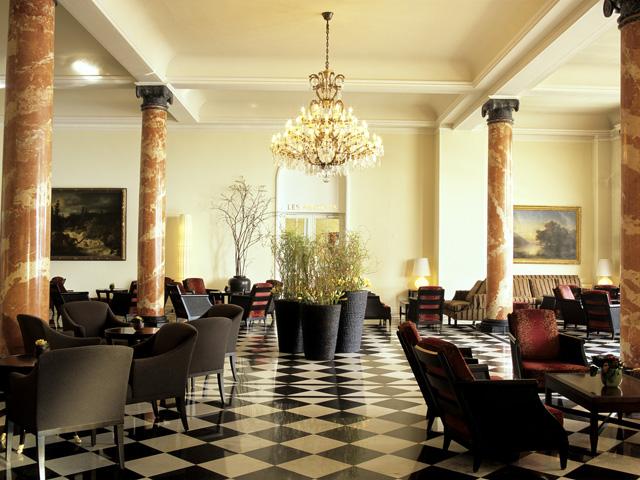 Palace Luzern: Lobby