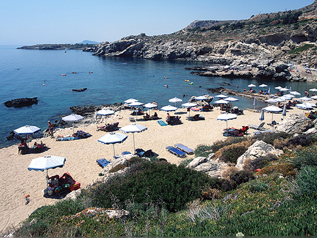 Kalithea Mare & Horizon Hotel: Beach