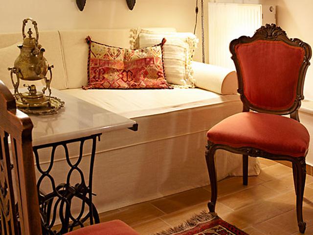 Casa Dell Aristea: Living room