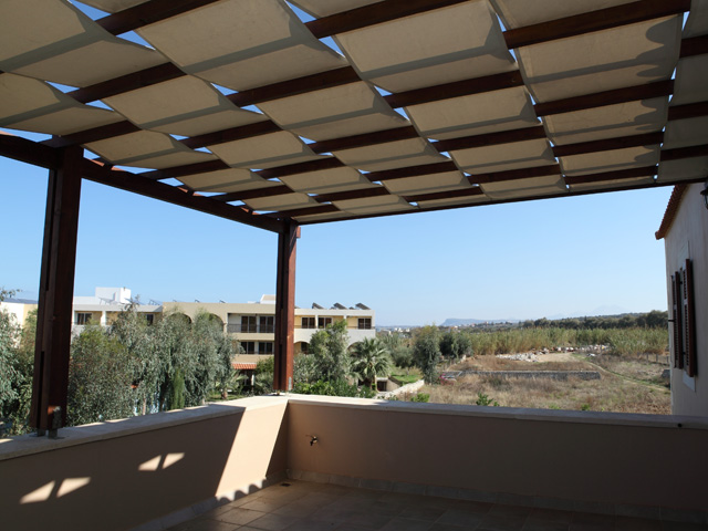 Anemoni Villa: Balcony