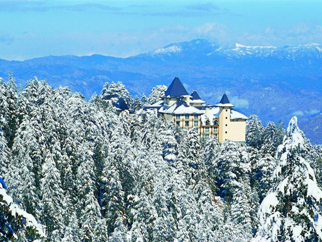 Wildflower Hall In The Himalayas - Exterior Winter