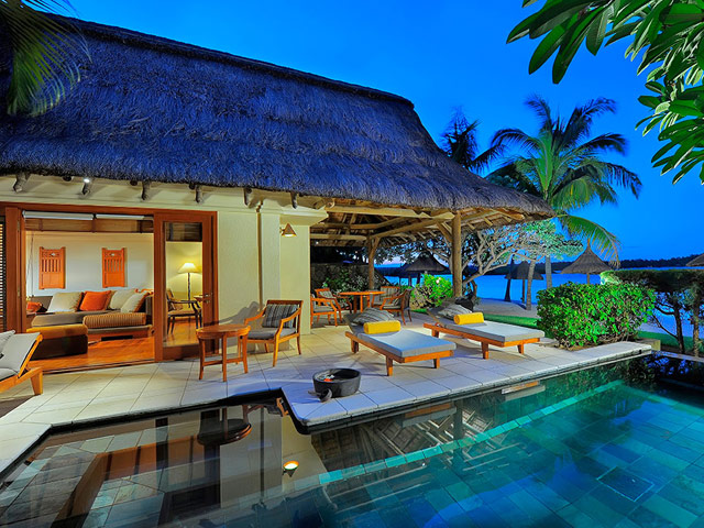 Constance Le Prince Maurice Mauritius - Princely Suite Exterior View