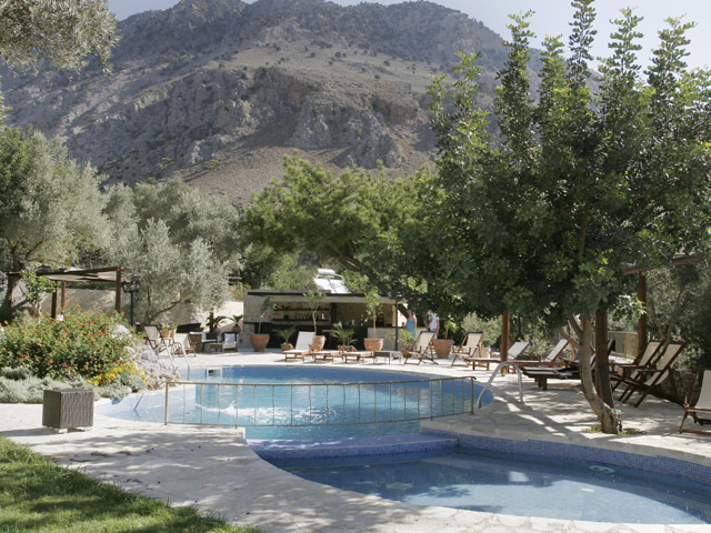 Eleonas Traditional Cottages: Swimming Pool