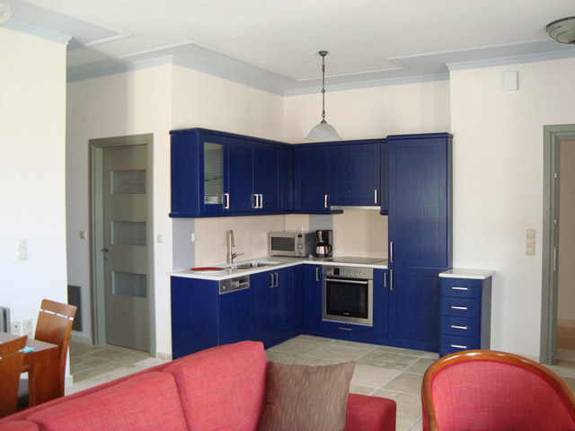 Thealia Hotel Apartments - Kitchen
