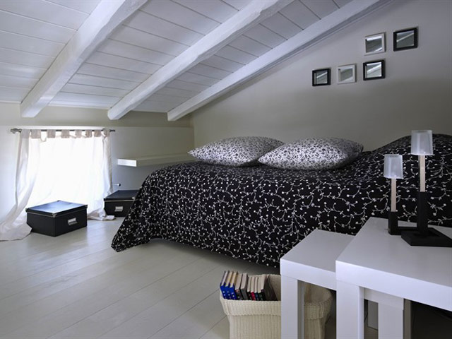 Eliathos Residence Houses - Bedroom