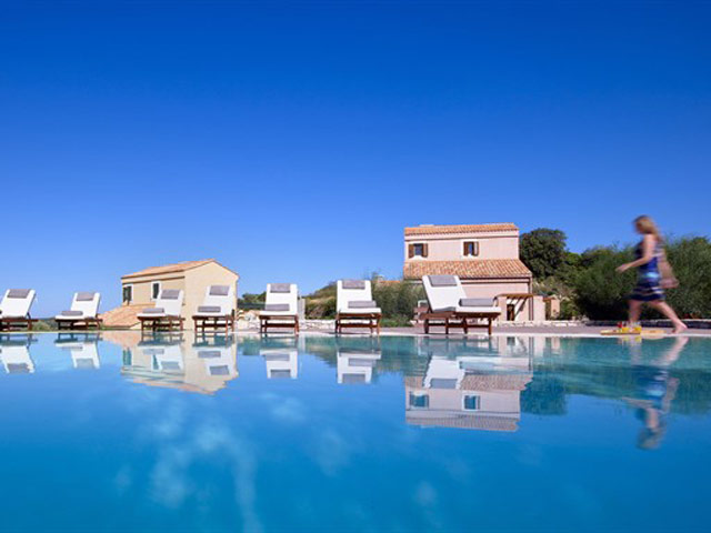 Eliathos Residence Houses - Pool Area