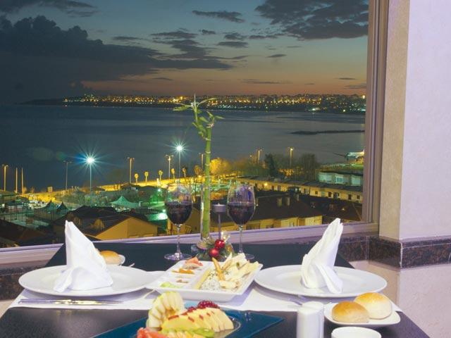 Eser Premium Hotel & Spa : Restaurant