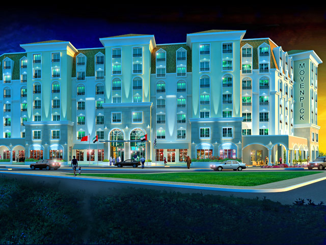 Moevenpick Hotel Deira - Exterior View