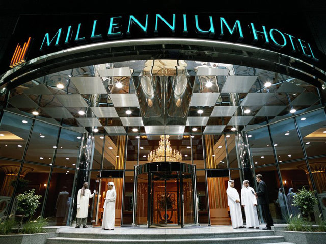 Grand Millennium Hotel Dubai - Entrance