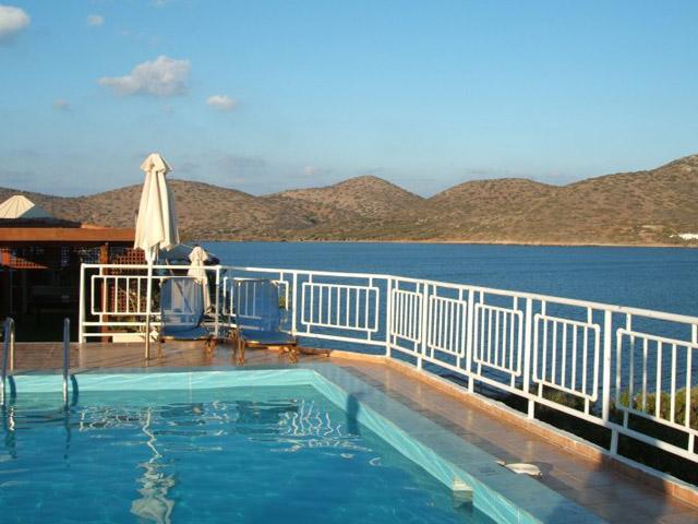Elounda Akti Olous: Akti Olous Roof top Pool View