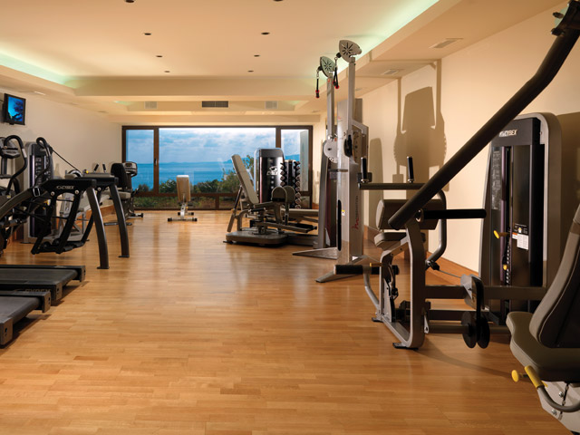 Elounda Peninsula All Suite Hotel: Fitness Room