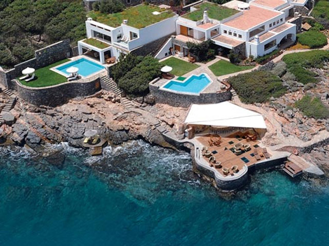 Elounda Peninsula All Suite Hotel: Peninsula Palace Aerial View