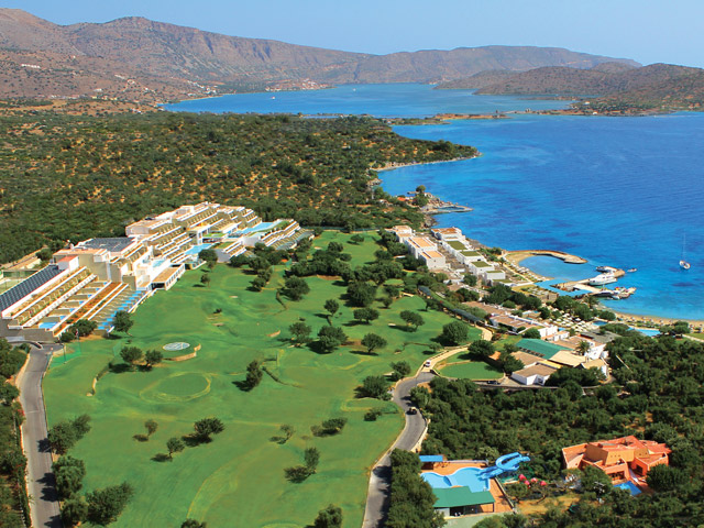 Porto Elounda Golf and SPA Resort - Porto Elounda Aerial View