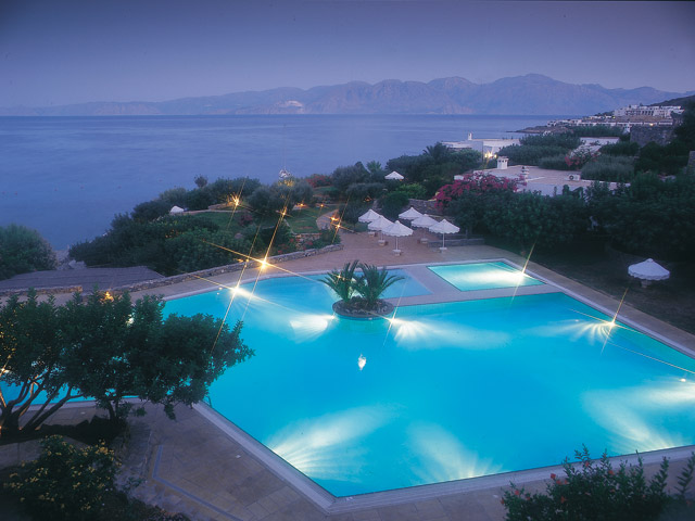 Elounda Mare Hotel - Relais & Chateaux: Pool Area
