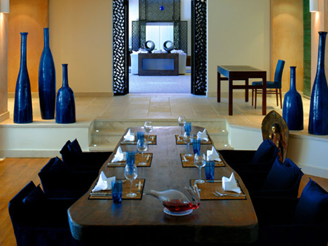Blue Palace Resort & Spa: Asia Blue Dining Area