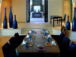 Asia Blue Dining Area
