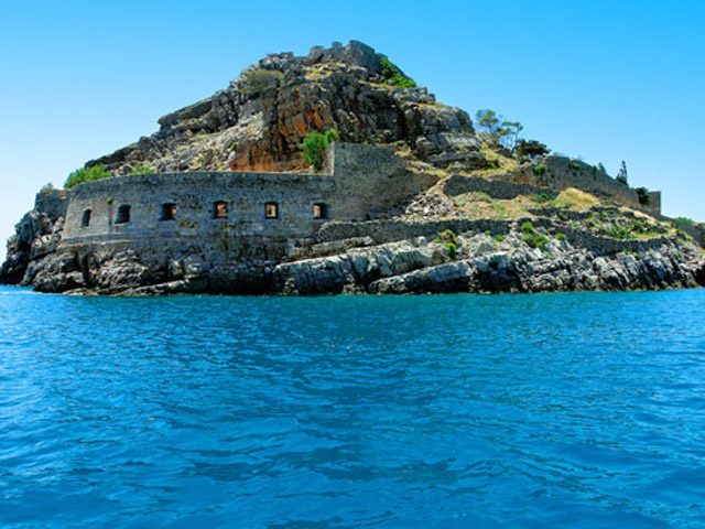 Blue Palace Resort & Spa: Spinalonga Island View