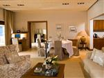 Elounda Beach Exclusive Club  Grand Suites Dining & Living Room
