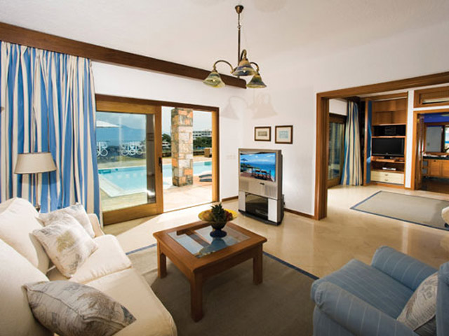 Elounda Beach Exclusive  & Platinum Club - Elounda Beach Exclusive Club  Hideaway Villas Living Room