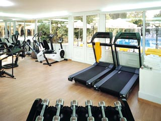 Theoxenia Palace Hotel: Fitness Room